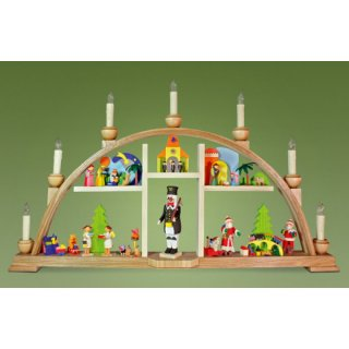 Graupner LED candle arch with miner