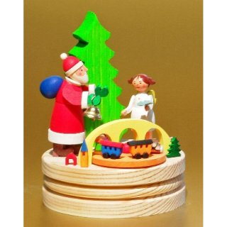 Graupner music box Santa Claus with Christ child