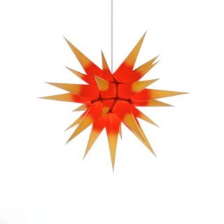 Herrnhut christmas star yellow/red
