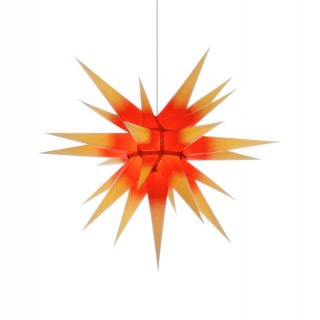 Herrnhut christmas star I7 yellow/red