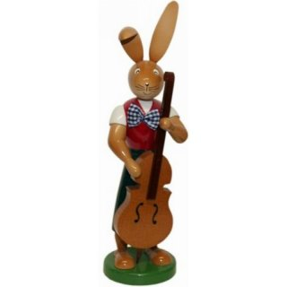 Holzkunst Gahlenz rabbit with bass