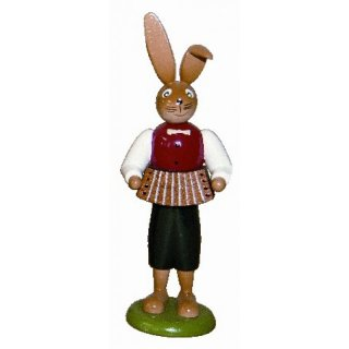 Holzkunst Gahlenz rabbit with accordion