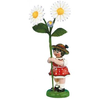 Hubrig flower kid - flower girl with daisy