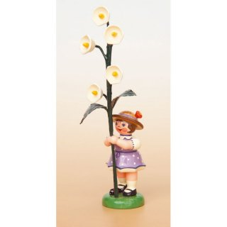 Hubrig flower kid - flower girl with lily of the valley
