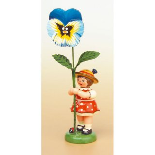 Hubrig flower kid - flower girl with viola