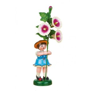 Hubrig flower girl with stick rose