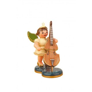 Hubrig angel with double bass