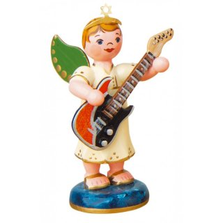 Hubrig angel boy with electrical guitar