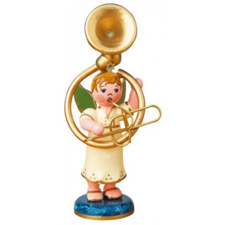 Hubrig angel boy with sousaphone