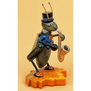 Hubrig cricket with saxophone