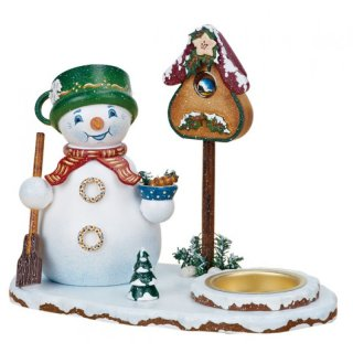Hubrig smoker snowman with tealight