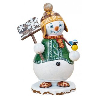 Hubrig smoker minature snowman