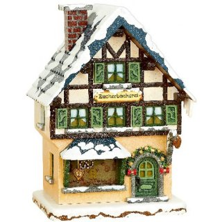 Hubrig winter houses suger bakery