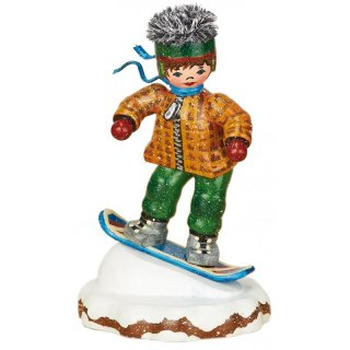 Hubrig winter kid snowboarder
