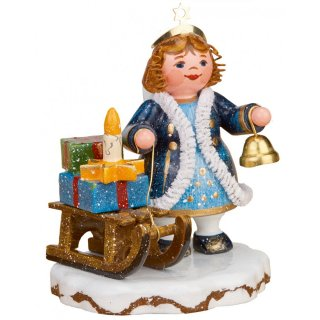 Hubrig winter kids Heavens kid ringing bell