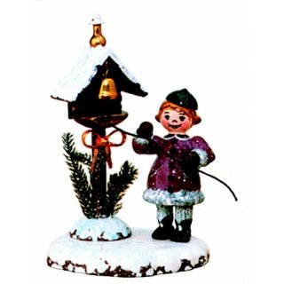 Hubrig winter kids winter bell