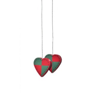 KWO tree decoration hearts