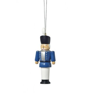KWO tree decoration nutcracker blue