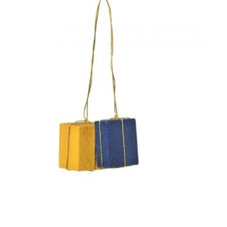 KWO tree decoration packages yellow/blue