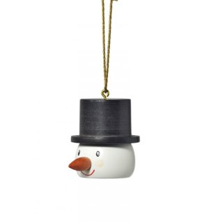 KWO tree decoration snowman head