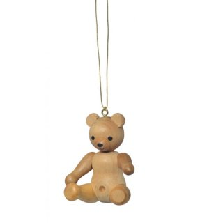 KWO tree decoration teddy sitting