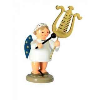 KWO angel with carillon lyre