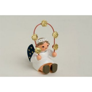 KWO angel with star bow, sitting