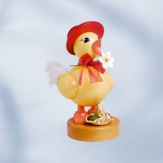 KWO spring chick with red hat