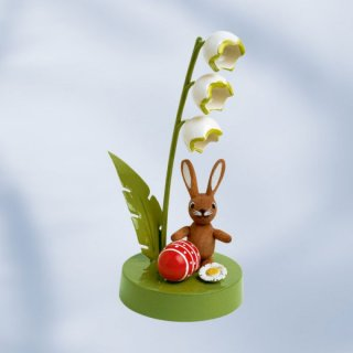 KWO rabbit with lily of the valley