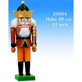 KWO nutcracker king with crown