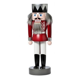 KWO nutcracker king red
