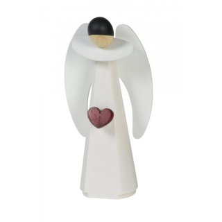 KWO Assembly angel with heart white