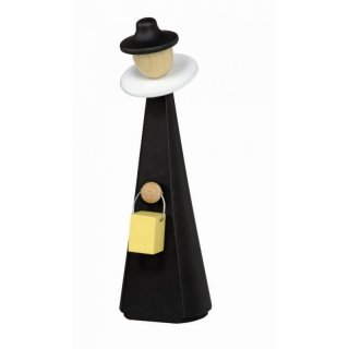KWO pyramid assembly carolers figure black