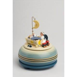 KWO music box Good Night small blue