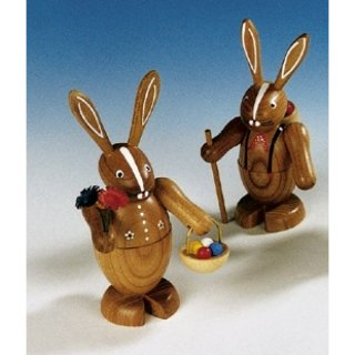 Knuth Neuber rabbit couple big nature