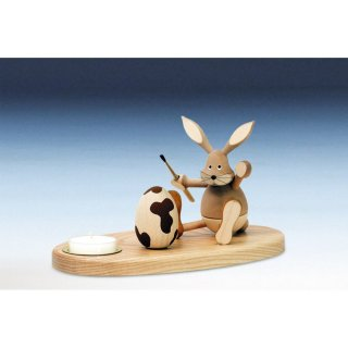 Knuth Neuber tealight holder rabbit sitting nature