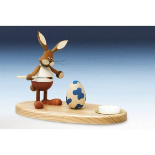 Knuth Neuber tealight holder rabbit standing colored