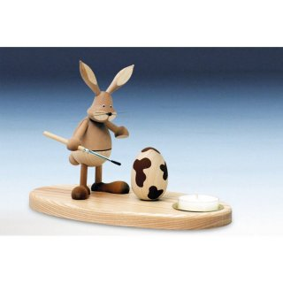 Knuth Neuber tealight holder rabbit standing nature