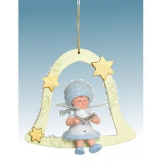 Kuhnert tree decoration snowflake singer