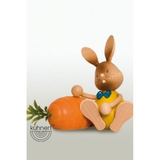 Kuhnert easter bunny Stupsi with carrot