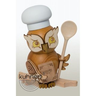 Kuhnert incense figure owl cook