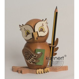 Kuhnert incense figure owl as student