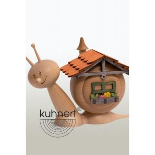Kuhnert incense figure house slug