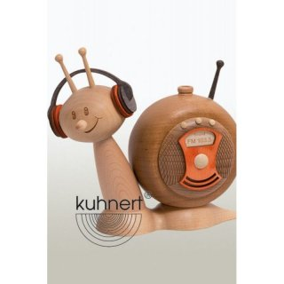 Kuhnert incense figure radio slug