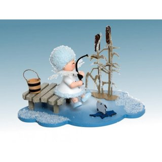 Kuhnert snowflake ice angler on the cloud