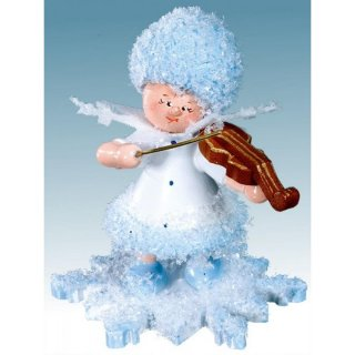 Kuhnert snowflake with violin