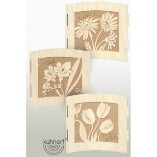 Kuhnert tealight holder spring flowers