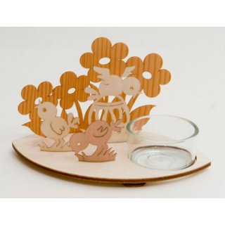 Kuhnert tealight holder easter chick
