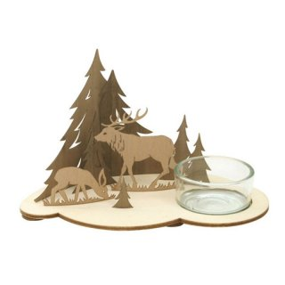 Kuhnert tealight holder forest