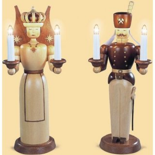 Müller light figure angel and miner big electric
